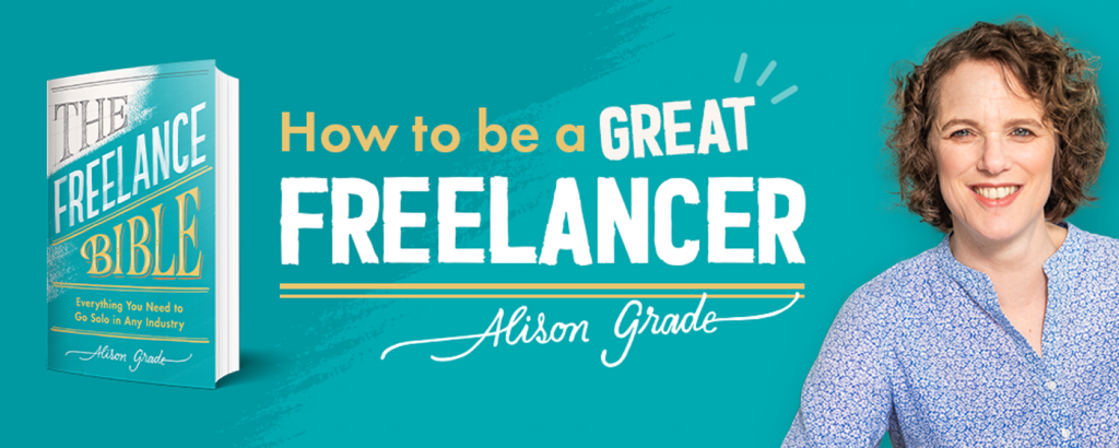Alison Grade author of The Freelance Bible