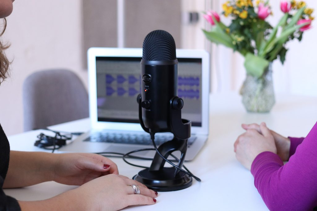 Podcasting about professionalism